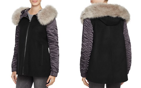 SAGE Collective Mixed Media Coat - 100% Exclusive - Bloomingdale's_2