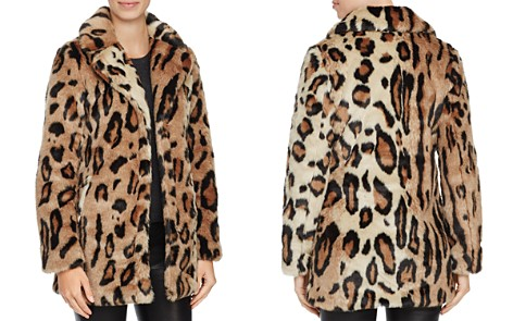 Louise Paris Leopard Print Faux Fur Coat - 100% Exclusive - Bloomingdale's_2