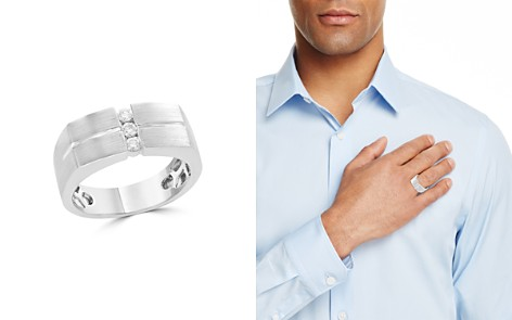 Diamond Men's Band in 14K White Gold, .20 ct. t.w. - 100% Exclusive - Bloomingdale's_2