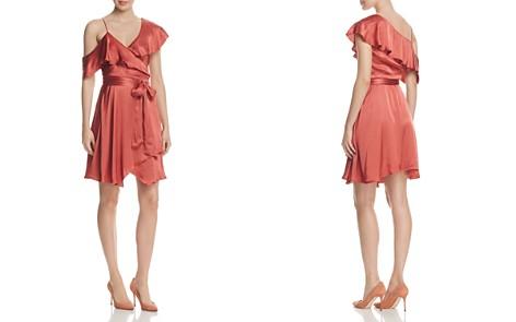 WAYF Rachelle Satin One-Shoulder Wrap Dress - 100% Exclusive - Bloomingdale's_2