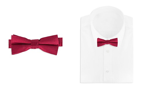 Bloomingdale's Boys Boys' Textured Bow Tie - 100% Exclusive_2