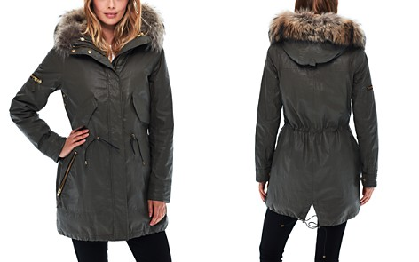 SAM. Tribeca Mixed Fur Trim Parka - Bloomingdale's_2