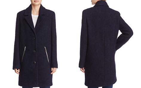 Calvin Klein Bouclé Coat - Bloomingdale's_2