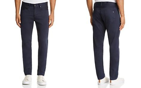 rag & bone Standard Issue Fit 2 Slim Fit Twill Jeans in Dark Blue - Bloomingdale's_2