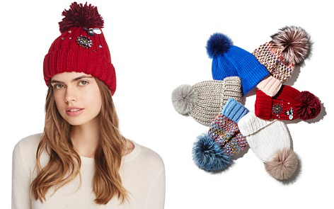 Cara New York Critter Embellished Pom Hat - Bloomingdale's_2