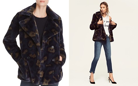 Zadig & Voltaire Miles Leo Faux-Fur Camouflage Coat - Bloomingdale's_2