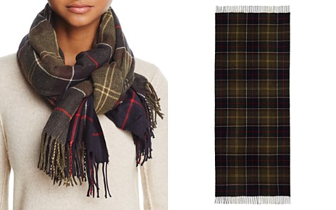 Barbour Hailes Tartan Wrap - Bloomingdale's_2