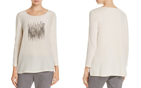 Weekend Max Mara Tenue Embellished Top - Bloomingdale's_2