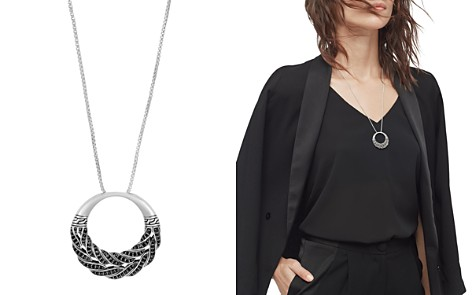 """John Hardy Sterling Silver Classic Chain Box Chain Pendant Necklace with Black Sapphire, 32"""" - Bloomingdale's_2"""