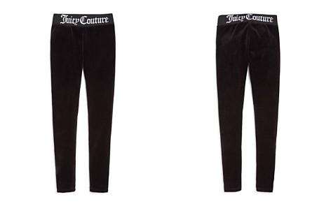 Juicy Couture Black Label Girls' Track Stretch Velour Pants - Big Kid - Bloomingdale's_2