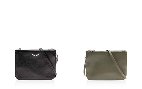 Zadig & Voltaire Clyde Leather Crossbody - Bloomingdale's_2