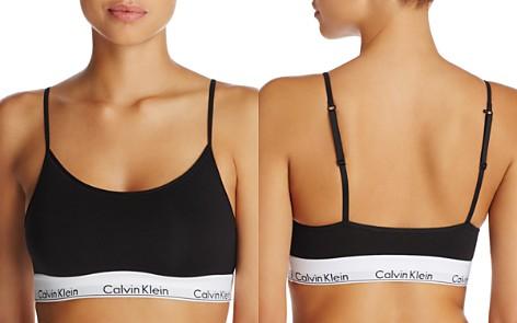 Calvin Klein Modern Cotton Unlined Bralette - Bloomingdale's_2