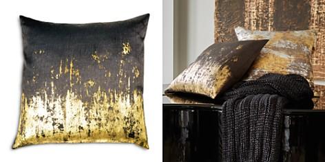 "Michael Aram Distressed Metallic Viscose Print Decorative Pillow, 20"" x 20"" - Bloomingdale's_2"