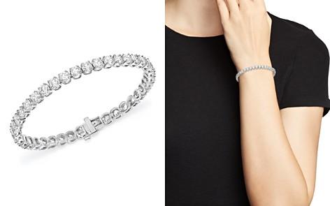 Certified Diamond Tennis Bracelet in 14K White Gold, 10.0 ct. t.w. - 100% Exclusive - Bloomingdale's_2
