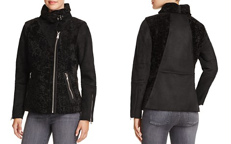 VINCE CAMUTO Faux Shearling Bomber Jacket - Bloomingdale's_2