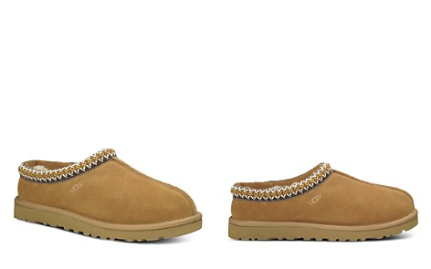UGG® Women's Tasman Suede & Sheepskin Slippers - Bloomingdale's_2