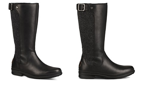 UGG® Women's Janina Waterproof Leather Paneled Tall Boots - Bloomingdale's_2