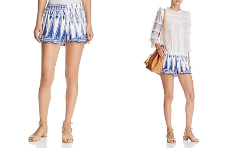 Surf Gypsy Ruffle Swim Cover-Up Shorts - Bloomingdale's_2