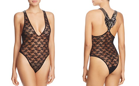 Hanky Panky After Midnight Ziegfeld Josephine Bodysuit - Bloomingdale's_2