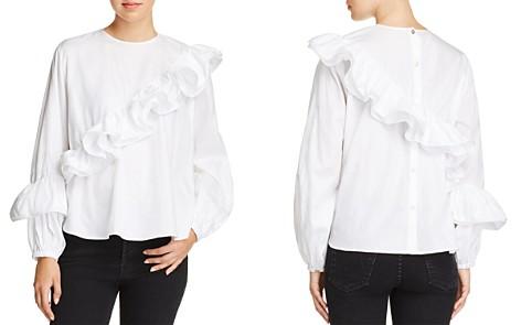 PETERSYN Jessica Asymmetric Ruffled Shirt - Bloomingdale's_2