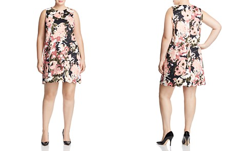 Love Ady Plus Floral Print Shift Dress - 100% Exclusive - Bloomingdale's_2