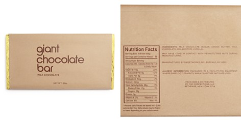 Bloomingdale's Giant Chocolate Bar, Milk Chocolate - 100% Exclusive _2