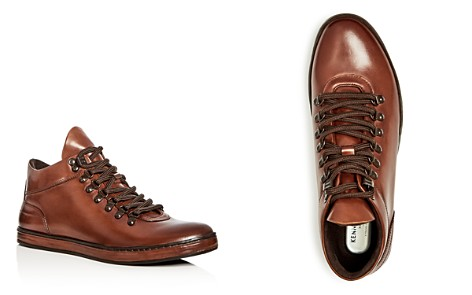 Kenneth Cole Men's Brandtour Leather Mid Top Sneakers - Bloomingdale's_2