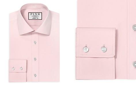 Thomas Pink Albermarle Plain Dress Shirt - Bloomingdale's Slim Fit_2