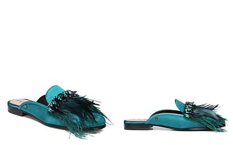 Sam Edelman Women's Landis Embellished Satin Mules - Bloomingdale's_2