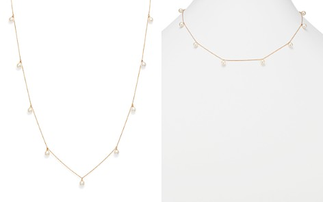 "MATEO 14K Yellow Gold Cultured Freshwater Pearl Station Choker Necklace, 18"" - Bloomingdale's_2"