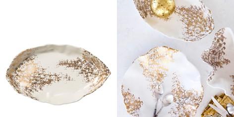 Vietri Scattered Gold Matte Oval Platter - Bloomingdale's Registry_2