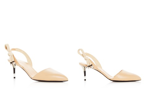 Oscar de la Renta Women's Cora Knot Slingback Pointed Toe Pumps - Bloomingdale's_2