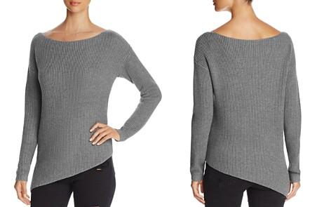 Marled Asymmetric Hem Sweater - 100% Exclusive - Bloomingdale's_2