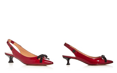 MARC JACOBS Women's Abbey Patent Leather Slingback Pumps - Bloomingdale's_2