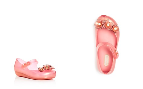 Mini Melissa Girls' Mini Ultragirl Embellished Mary Jane Flats - Walker, Toddler - Bloomingdale's_2
