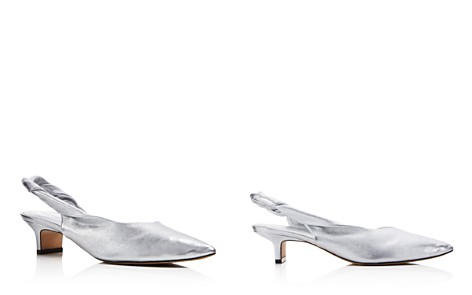 Sigerson Morrison Women's Melina Leather Kitten Heel Pumps - 100% Exclusive - Bloomingdale's_2