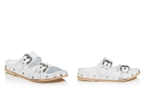 Stuart Weitzman Women's Sandbar Embellished Leather Sandals - Bloomingdale's_2