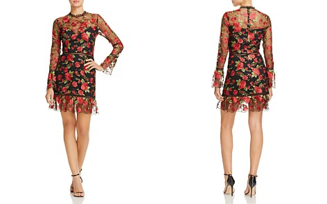 Saylor Rose Embroidered Dress - Bloomingdale's_2