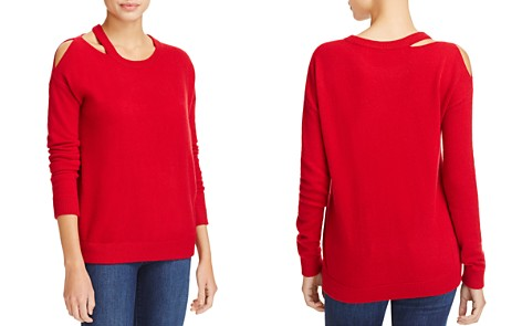 Minnie Rose Cut it Out Cashmere Sweater - Bloomingdale's_2