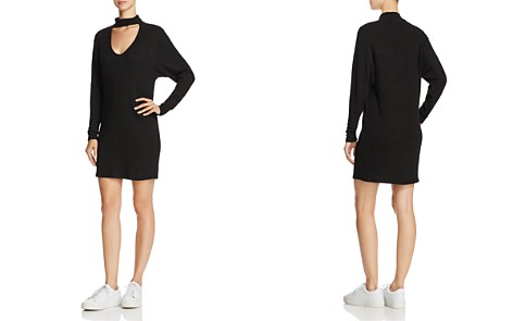 Splendid Choker Rib-Knit Dress - Bloomingdale's_2