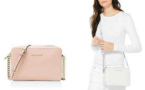 MICHAEL Michael Kors Jet Set Large Saffiano Leather Crossbody - Bloomingdale's_2