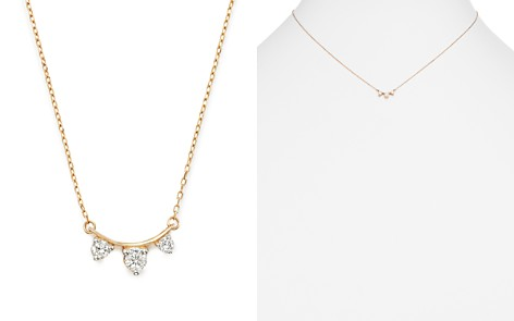 "Adina Reyter 14K Yellow Gold Amigos Diamond Curve Necklace, 15"" - Bloomingdale's_2"