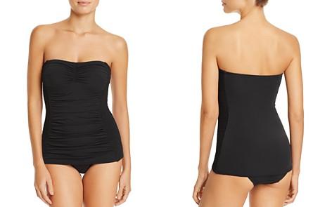 Carmen Marc Valvo Smocked Swim Dress - Bloomingdale's_2