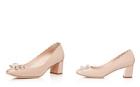 kate spade new york Women's Danielle Patent Leather Mid Heel Pumps - Bloomingdale's_2
