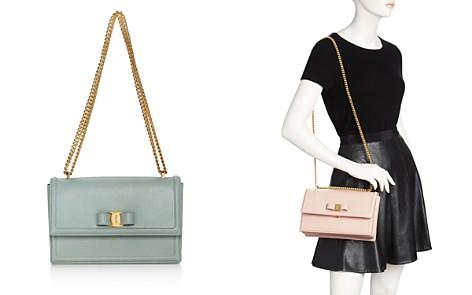 Salvatore Ferragamo Ginny Medium Leather Shoulder Bag - Bloomingdale's_2