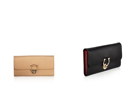 Salvatore Ferragamo Jet Set Leather Continental Wallet - Bloomingdale's_2