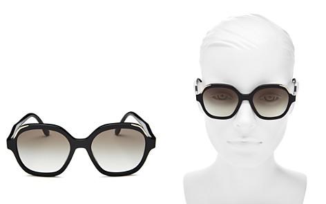 Prada Square Sunglasses, 52mm - Bloomingdale's_2