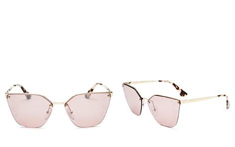 Prada Cat Eye Mirrored Sunglasses, 63mm - Bloomingdale's_2