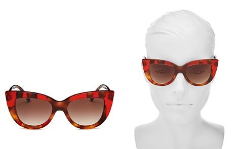 Valentino Women's Oversized Cat Eye Sunglasses, 51mm - Bloomingdale's_2