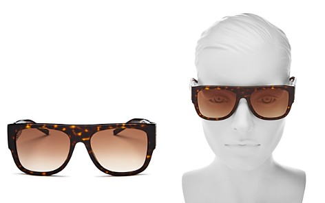 Saint Laurent M16 Square Sunglasses, 55mm - Bloomingdale's_2
